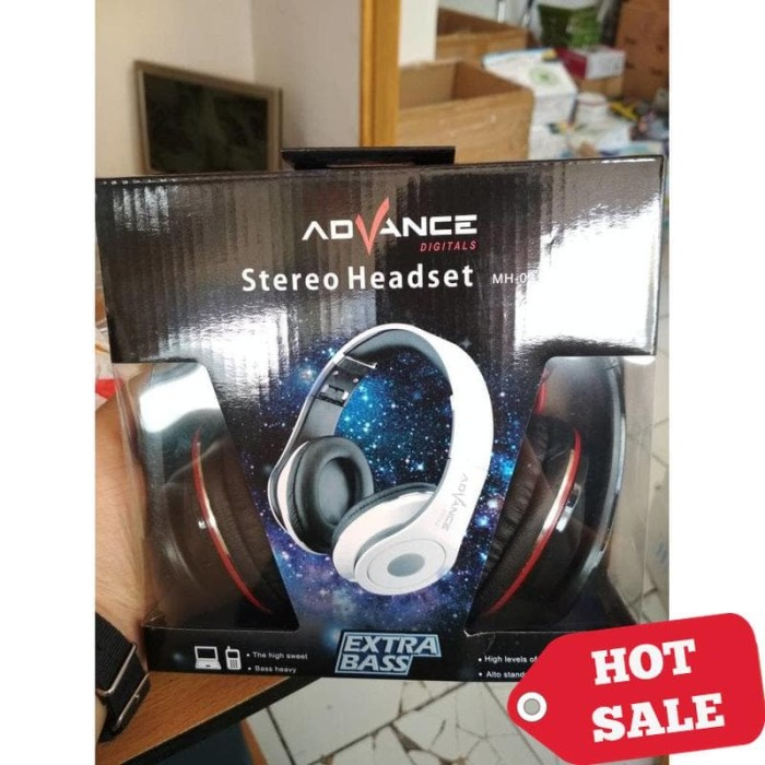 Advance MH-031 Stereo Headset - Headphones Powerfull Bass mh031