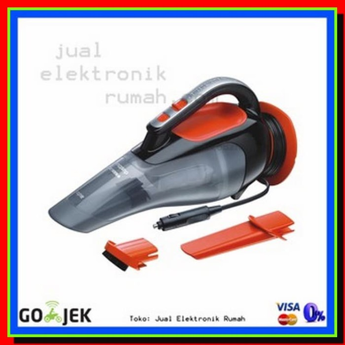 ELEKTRONIK RUMAH Portable Hand Car Vacum Black Decker ADV1210XJ Harg