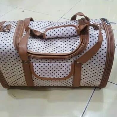 harga Happy pet cargo traveling bag - tas hewan kucing anjing Tokopedia.com