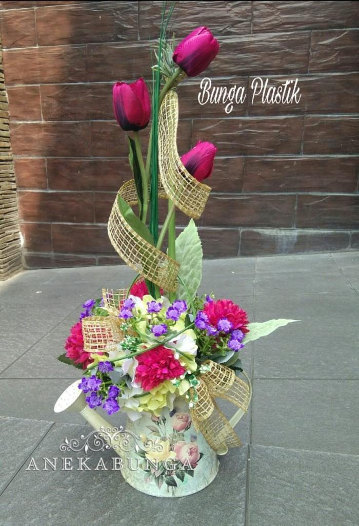 Contoh Soal Dan Contoh Pidato Lengkap Gambar Rangkaian Bunga Plastik