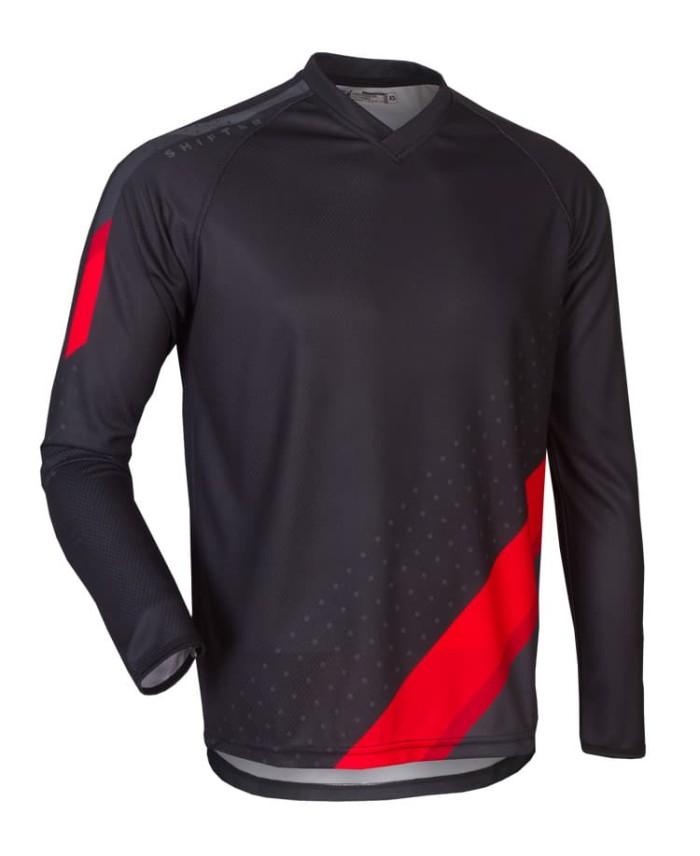 harga Jersey motocross mtb hardside shifter blackred Tokopedia.com