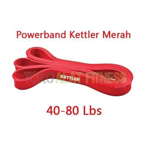 harga Powerband firm (red) ketler 40-80lb Tokopedia.com