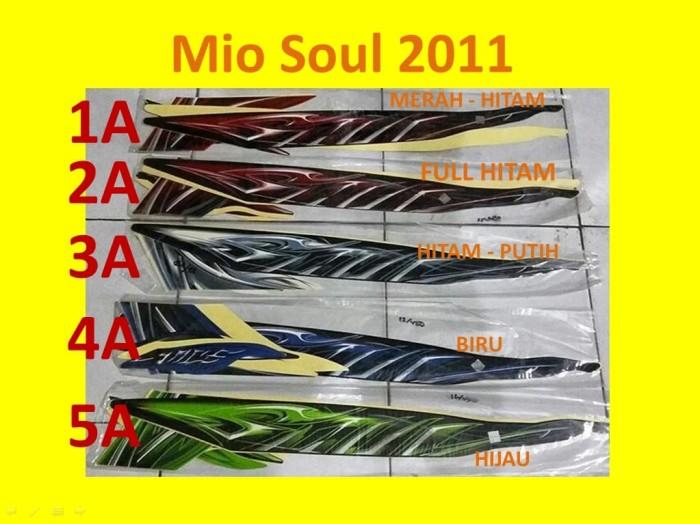 Foto Produk Motor Yamaha Mio 2011 Soul Stiker / Lis / Striping / Stripping dari thifa gea jkt