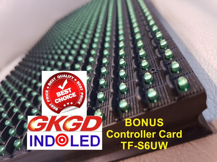 Foto Produk P10 Hijau GKGD FULL OUTDOOR - Tahan Air (High Quality) dari Pusat Grosir LED