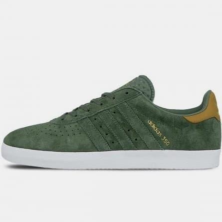 Jual Adidas 350 Green/Green - Hijau, 42
