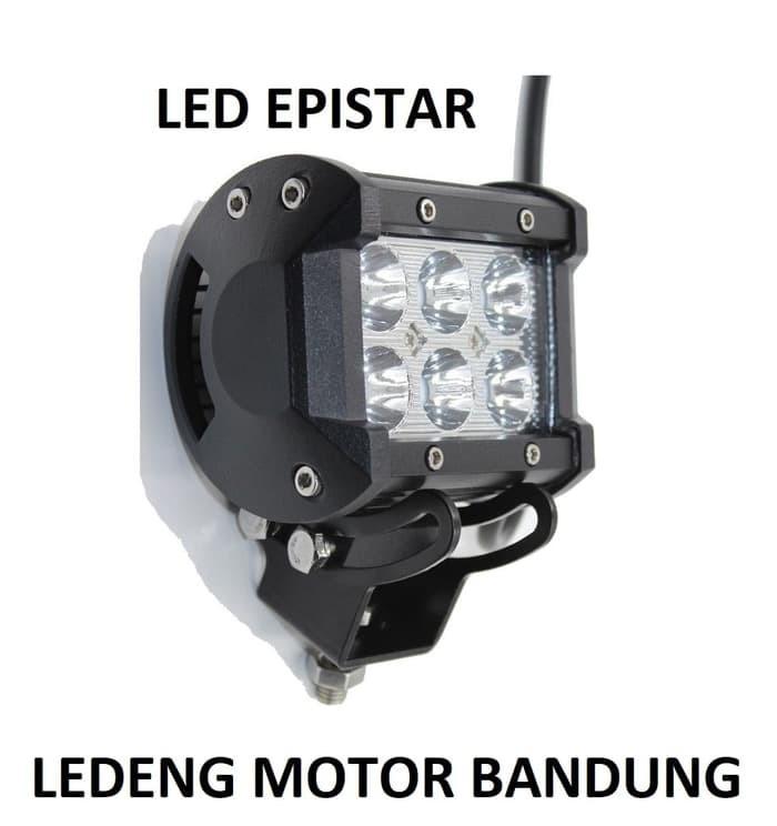 Worklight cree led spot 6 mata 18watt (lampu tembak sorot) ...