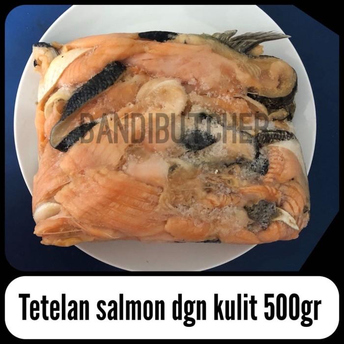 Tetelan Ikan Salmon Norway Murah / Ikan Salmon Tetelan Scrap Meat