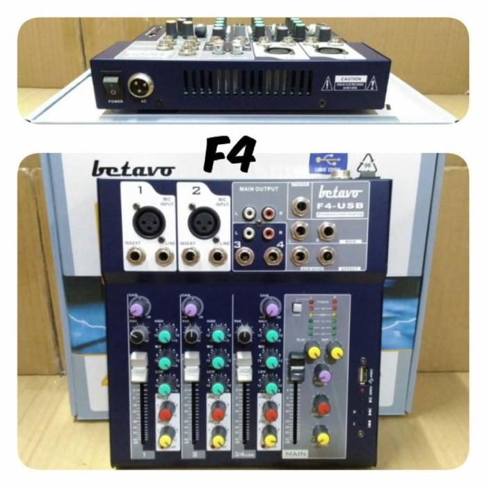 harga Audio mixer betavo f4 usb Tokopedia.com
