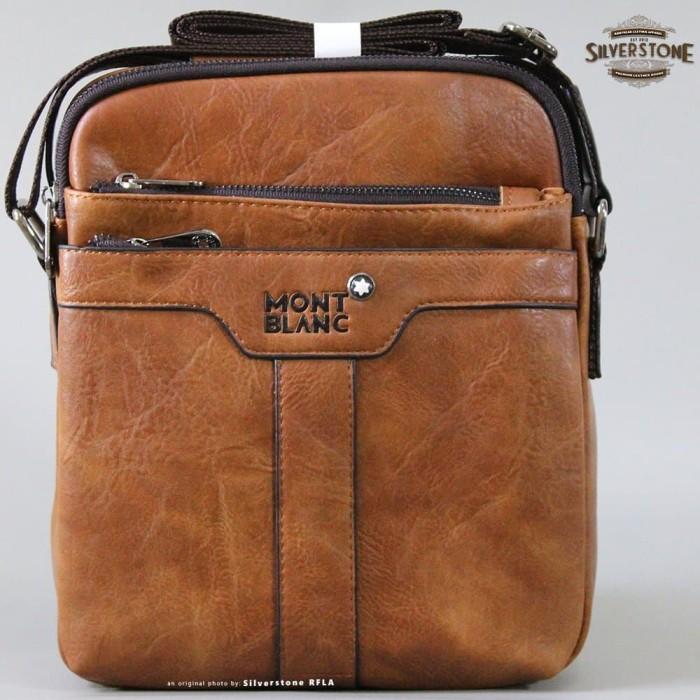Mont Blanc Tas Salempang Pria Leather Kulit - Cek Harga Terkini dan ... 8851c52a17