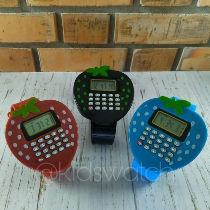 harga Jam tangan anak lucu kalkulator buah buahan murah Tokopedia.com