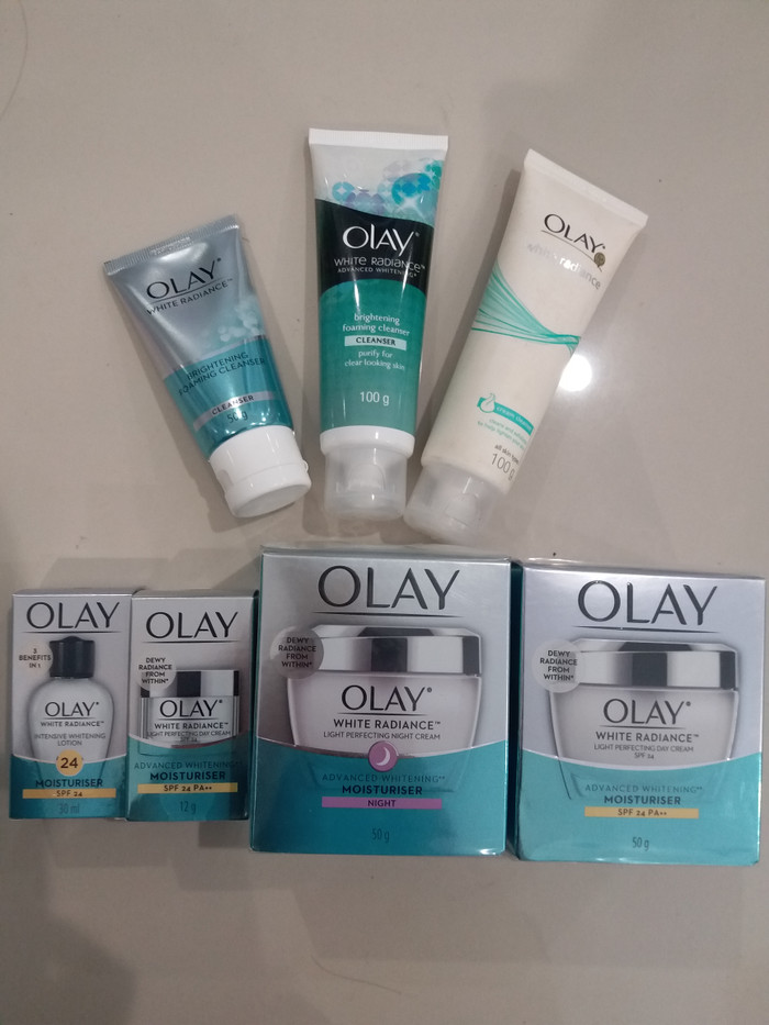 Olay White Radiance Advanced Fairness Purifying Foaming Cleanser Source · OLAY WHITE RADIANCE CREAM CLEANSER 100g
