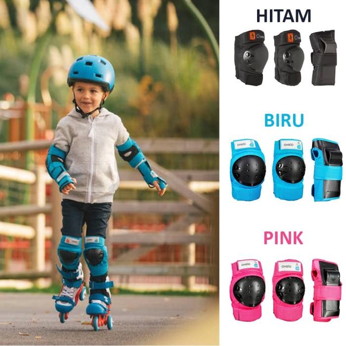 harga Oxelo Deker / Pelindung Lutut Skateboard Anak 100% Ori Blanja.com