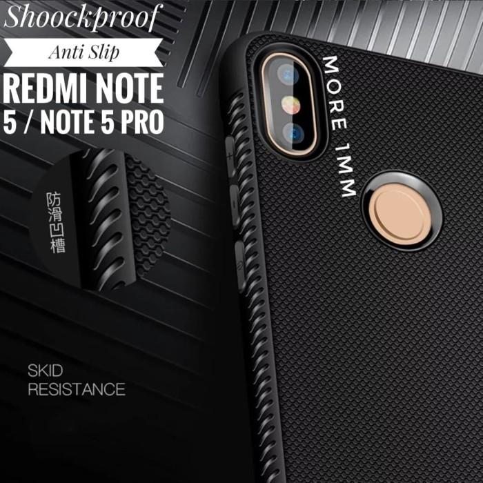 ... #Redmi #Note #Hitam Shockproof Anti Slip Slim Black Matte Case Xiaomi Redmi Note 5 Pro - Hitam antivirus, antifa, antigua, antibiotics, antivirus free, ...