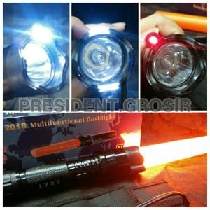 STUN GUN-SENJATA KEJUT LISTRIK-SENTER POLICE SWAT 3 MODE NYALA Limited