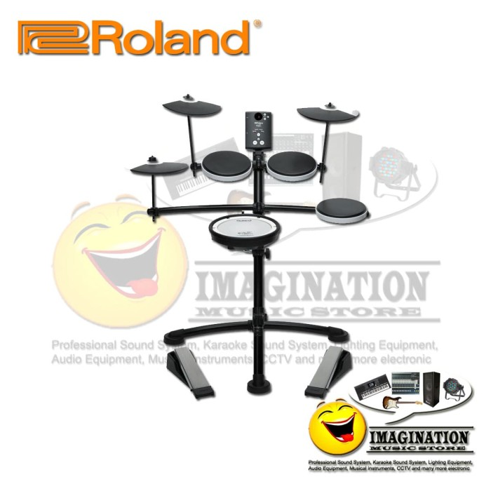 harga Roland v-drums td-1kv electronic drum set Tokopedia.com