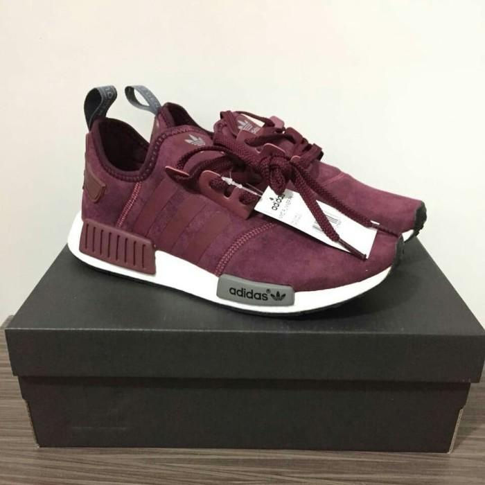 the best attitude 87895 cc299 Jual Sepatu / Sneakers Adidas NMD R1 Maroon Burgundy - Kota Batam - Waroeng  Premium | Tokopedia
