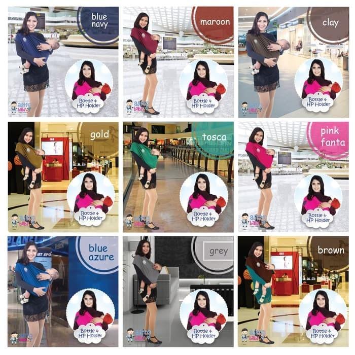 ASTRO BABY GEOS Gendongan Kaos Bayi Anak -PREMIUM- Warna CLAY size S