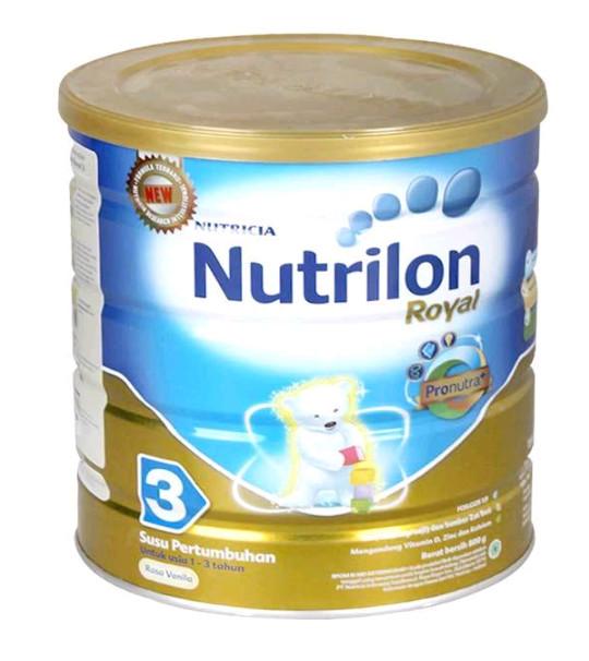 Nutrilon royal 3 vanila 800 gr