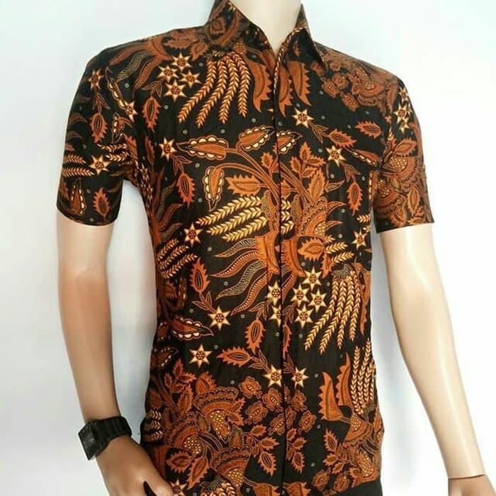 Jual Kemeja Batik Pekalongan Pria Kemeja Batik Eksklusif Baju Batik ... d06927f074