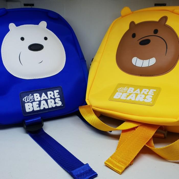 6c3b1cb88beb Jual Miniso We Bare Bears Childrens Backpack Tas Ransel Anak Motif ...