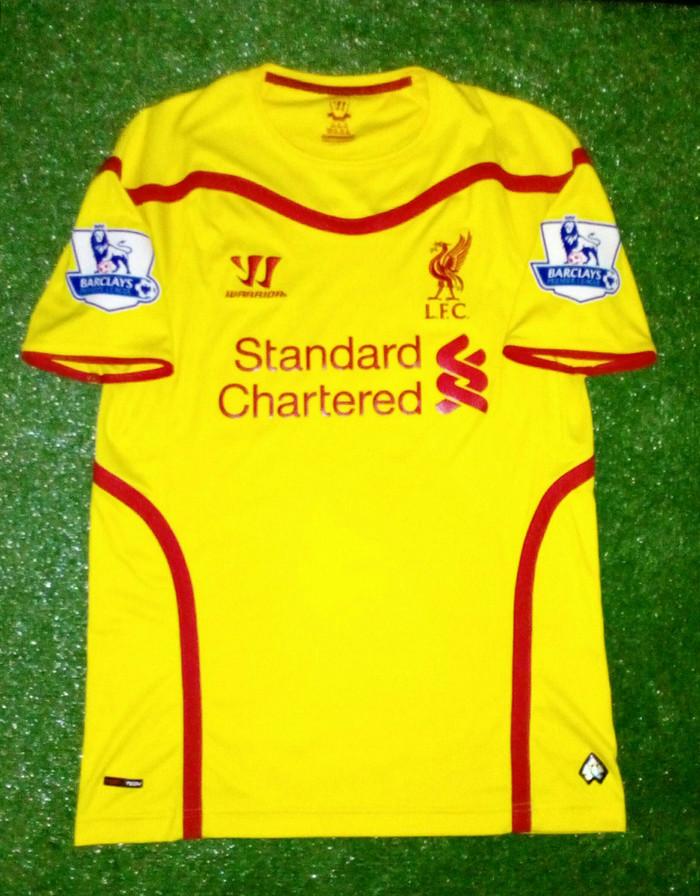 new product 082b2 d7786 Jual jersey original liverpool away 2014/2015 - DKI Jakarta - alifbadil |  Tokopedia