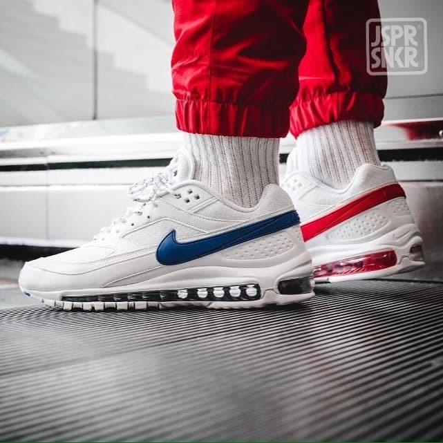 Jual Skepta x Nike Air Max 97 BW White Red Blue Kota Bandung Jasper Sneakerz   Tokopedia
