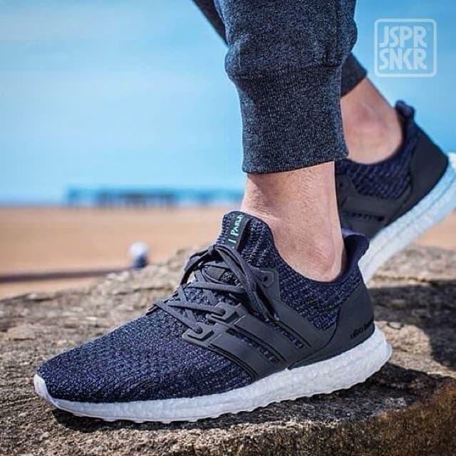 info for a54ef 90cca Jual Parley x Adidas Ultra Boost 4.0 - Dark Blue - Kota Bandung - Jasper  Sneakerz   Tokopedia