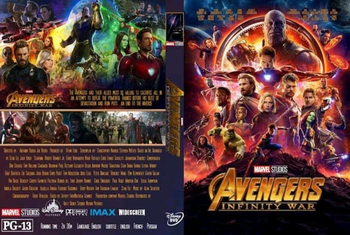 Jual Avengers Infinity Wars 2018 Jakarta Pusat Toko Blue Cosmo Tokopedia