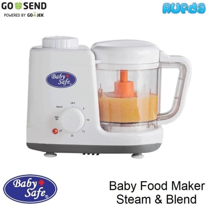 Baby Safe Food Maker Steam Blender Kukus Giling Pembuat Makanan Bayi