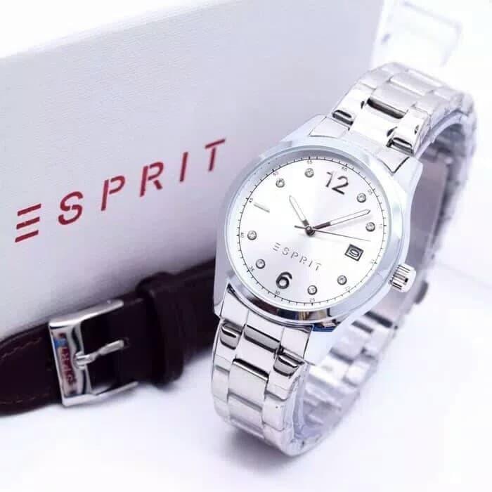 Jam Tangan Wanita Esprit Paket Tali ( Rolex Bonia Tissot )