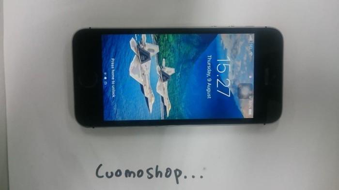 harga Di Jual Iphone 5S 16GB Mulus Second Black Grey Tokopedia.com