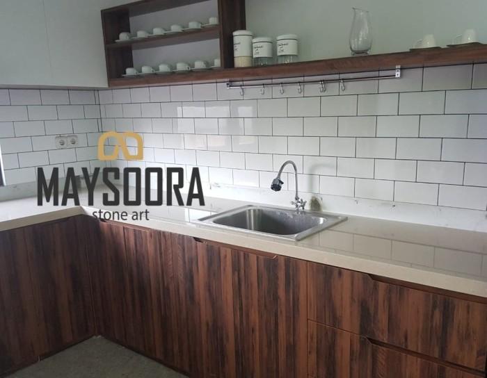 Jual Top Table Kitchen Set Bar Counter Bank Kab Bandung Barat Maysoora Stone Art Tokopedia