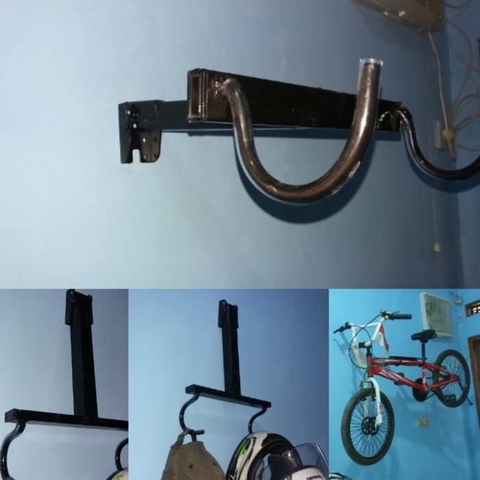 harga Gantungan sepeda di tembok bisa di lipat Tokopedia.com