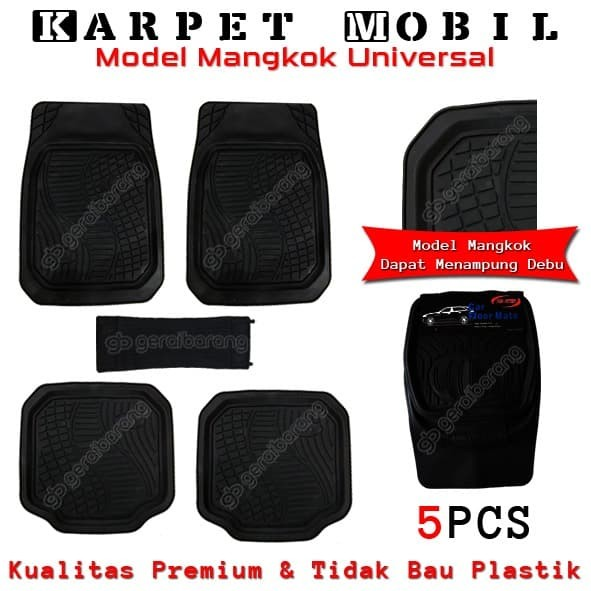 Car Floor Mats >> Jual Karpet Mobil Universal Model Mangkok Car Floor Mats Jakarta Pusat Gerai Barang Tokopedia