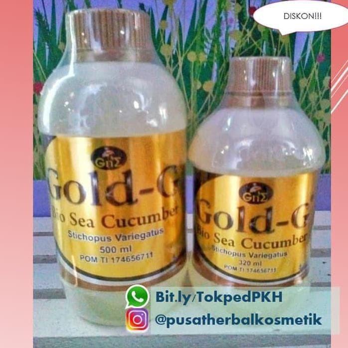 Foto Produk Jelly Gamat Gold G 500Ml Asli | Harga Jelly Gamat Gold G 500Ml Ready dari Berkah KosmetikShop