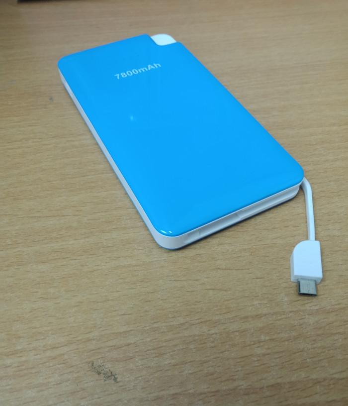 Powerbank Bcare 7800mAh Original 100% - Biru Muda