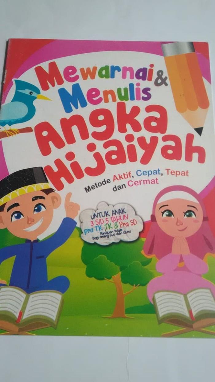 Jual BUKU MEWARNAI ANGKA HIJAIYAH Jakarta Selatan Vinash Shop