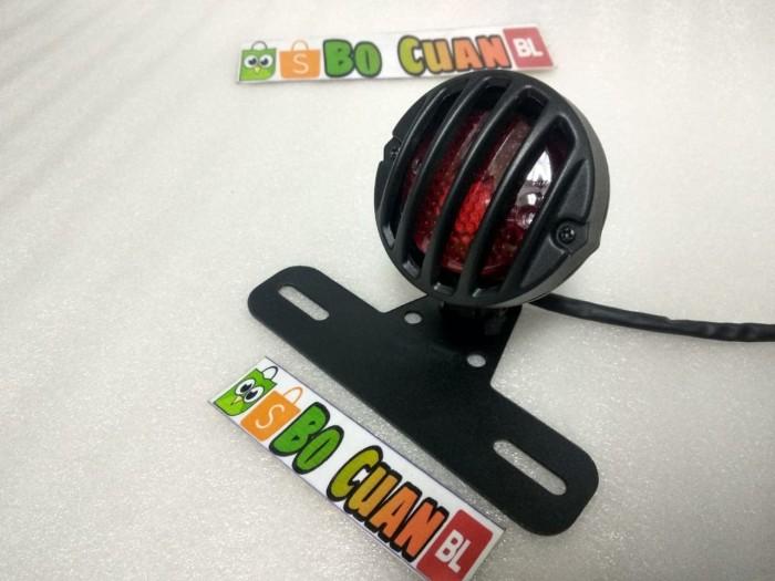 harga Lampu stop grill japstyle motor custom cafe racer Tokopedia.com