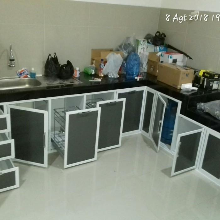 Jual Perlengkapan Kitchen Set Bawah Kompor Bu Kharina Rh Aluminium