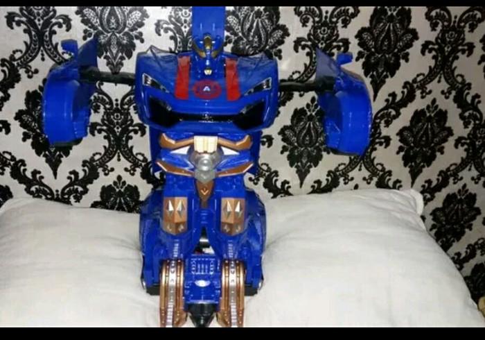 Jual Mainan Mobil Remot Bisa Jadi Robot Sensor Zahra Toys 25 Tokopedia