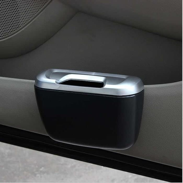 Tempat Sampah Mobil Samping Dashboard Car Trash Bin interior tissue OK