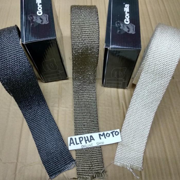 harga Exhaust wrap pembalut leher pipa knalpot klx japstyle kustom Tokopedia.com