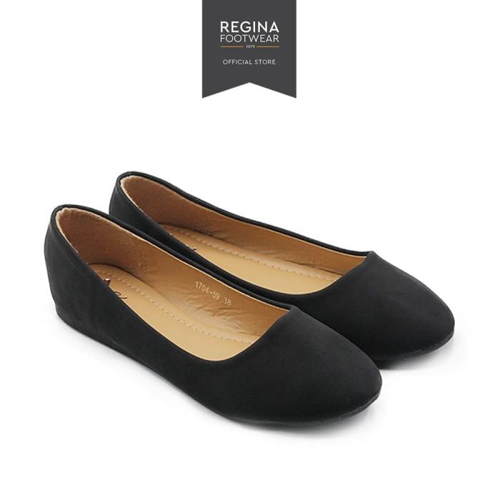 Dea sepatu wanita/slip on/flat shoes 1704-59 - black size 36/41 - hitam 40