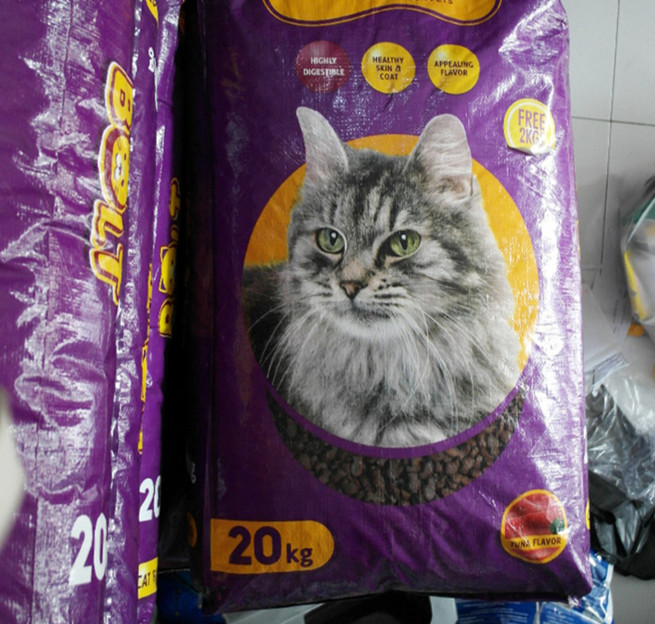 Gojek grab makanan kucing bolt cat food 20 kg