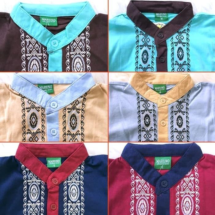 Perlengkapan Dapur Koko Anak Batik Muslim Baju Setelan Pakaian Gamis