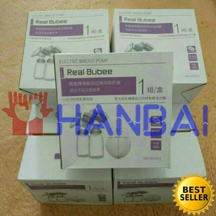 Jual Beli Ready Stock Real Bubee Double Breast Pump Electric Pompa Asi Harga Rp 291.000