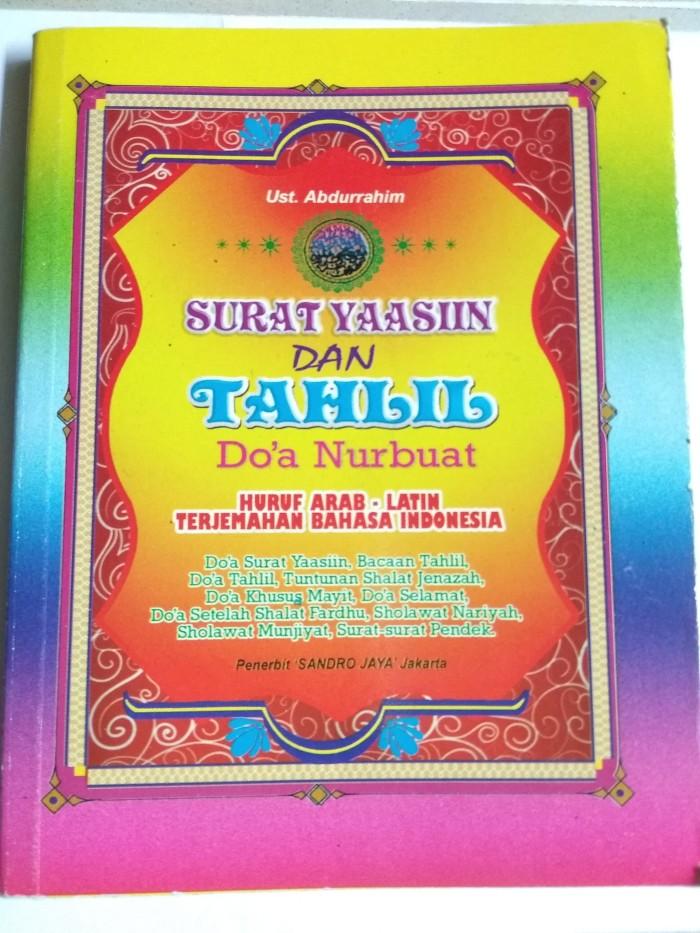 Jual Surat Yasin Dan Tahlil Doa Nurbuat Dki Jakarta 9oedangilmu Tokopedia