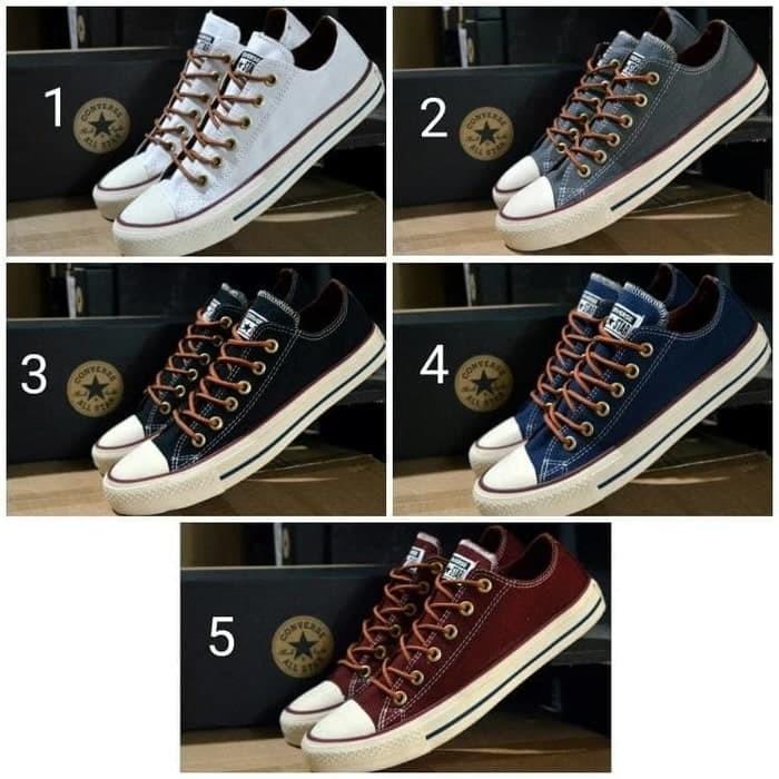 4befdf86a9f4 Jual Sneakers Pria PROMO SEPATU ALL STAR CONVERSE TALI TAN ORGINAL ...