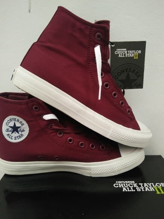 Jual Sneakers Pria Sepatu Converse All Star Original BNIB HIGH Navy ... 17021657ae