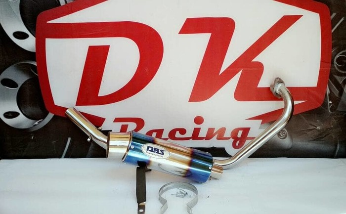 harga Knalpot Racing Yamaha New Vixion Lighting Dbs Bulat Blanja.com